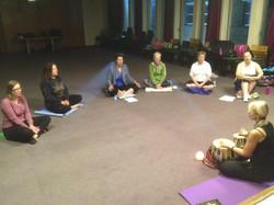 Chanting Meditation, Weybridge