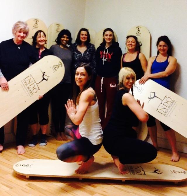 Yoga Indo Board Workshop 9.2.14