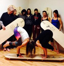 Yoga Indo Board Workshop, Chertsey