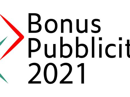 Bonus Pubblicità: Proroga 2021-2022