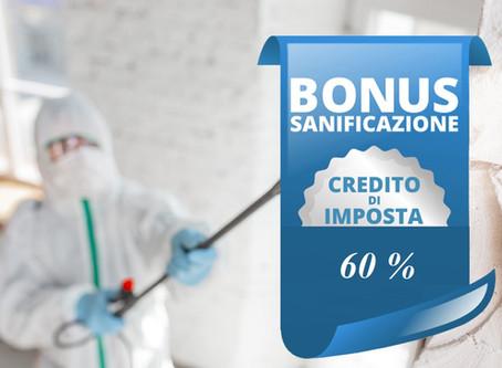 Ultimo giorno per richiedere il Bonus sanificazione e acquisto DPI
