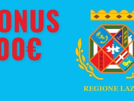 Regione Lazio: Pronto il contributo da 600 € per lavoratori autonomi e ditte individuali