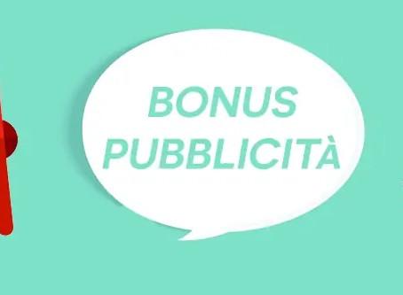 Gli ultimi giorni per richiedere il Bonus Pubblicità