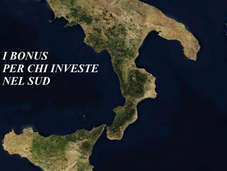 I Bonus per le imprese che investono al Sud