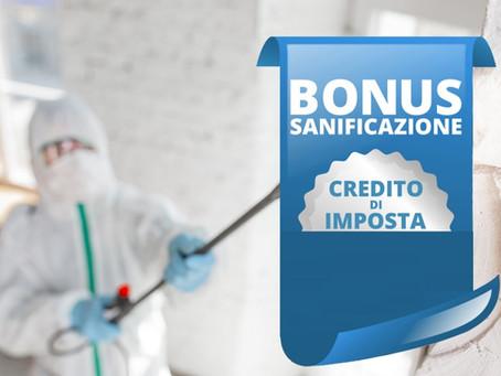 Via libera all'utilizzo del Bonus sanificazione e DPI