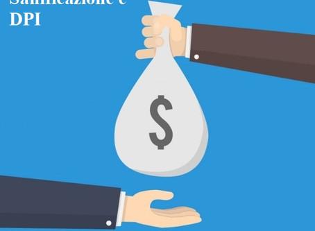 Bonus Sanificazione e acquisto DPI - Importi e cessione