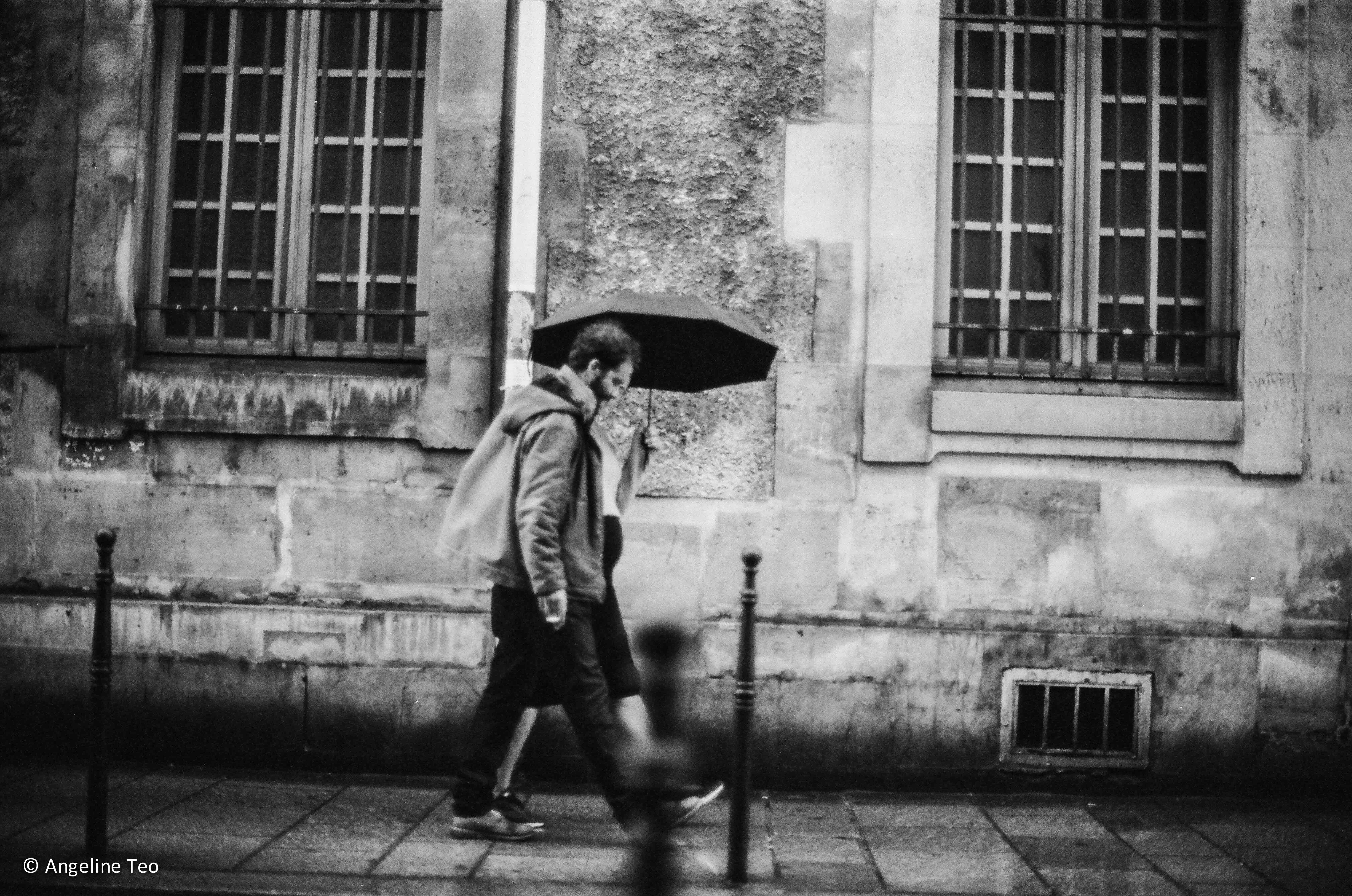 Strolling in The Rain