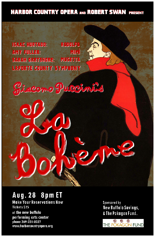 La Boheme, Harbor Country Opera