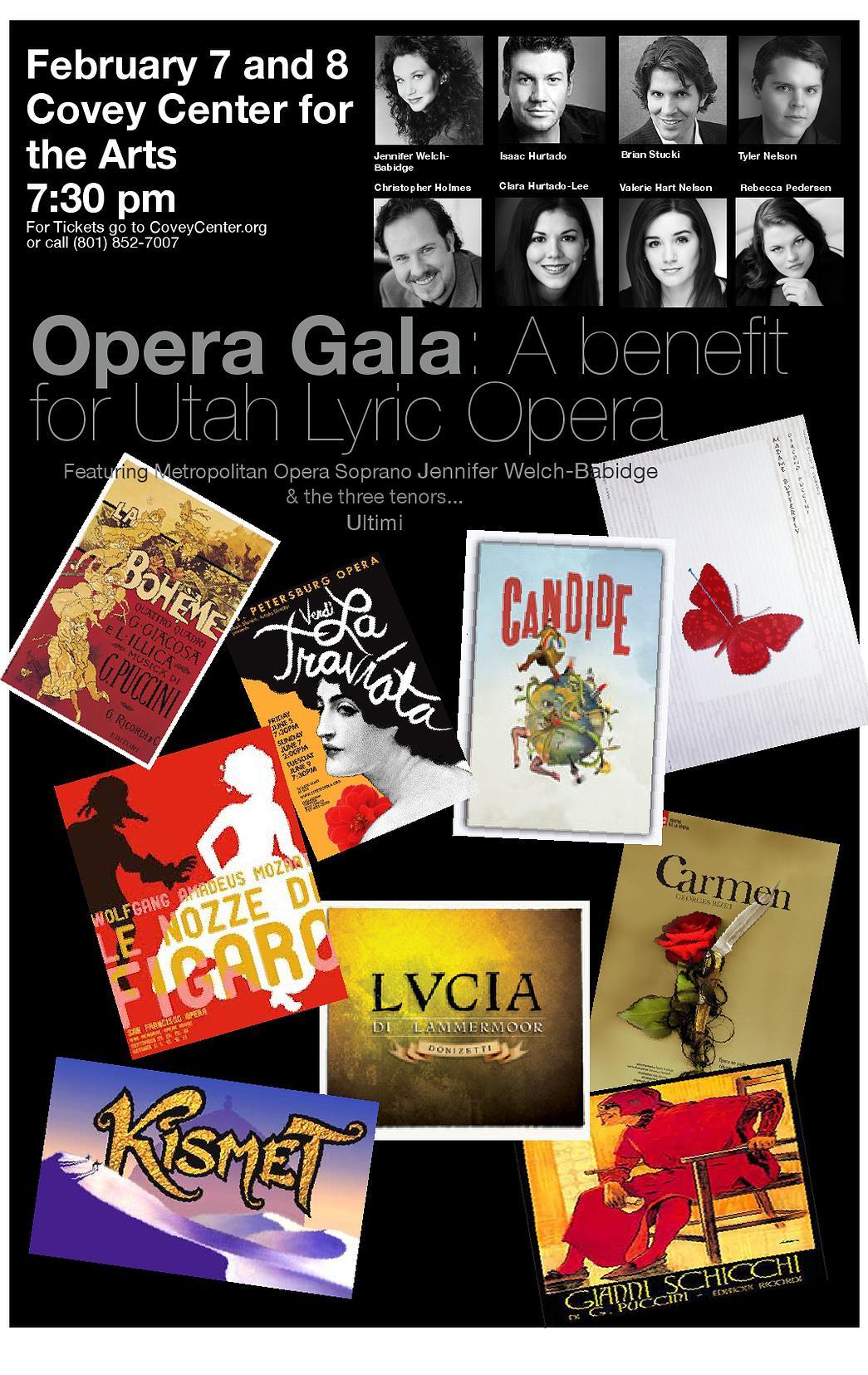 Opera Gala, Utah Lyric Opera