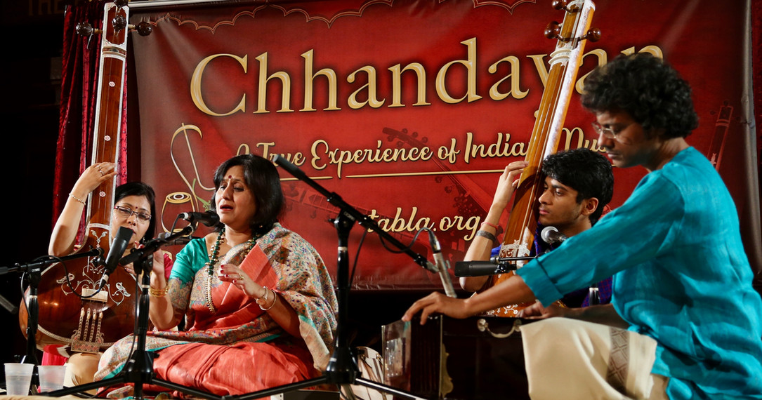 Chhandayan All Night concert in 2018.