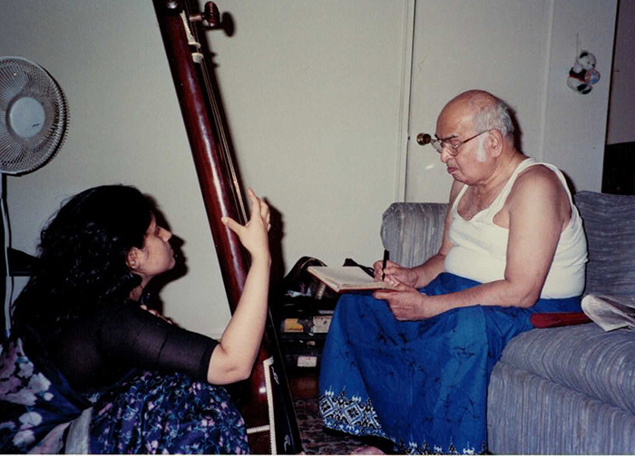Guruji Giving Lessons