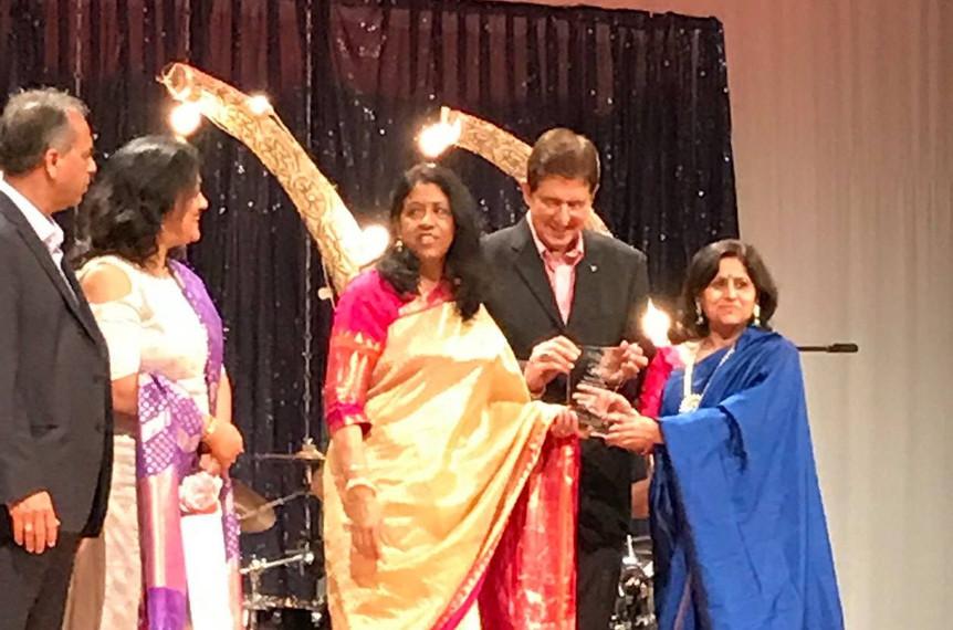 With Kavita Subramanium