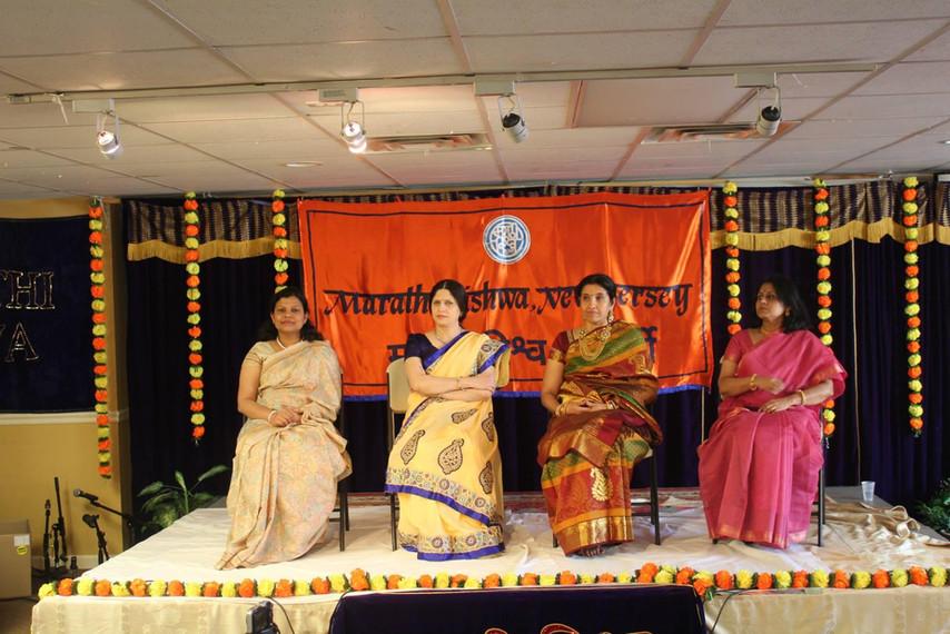 Marathi Viswa felicitation along with others