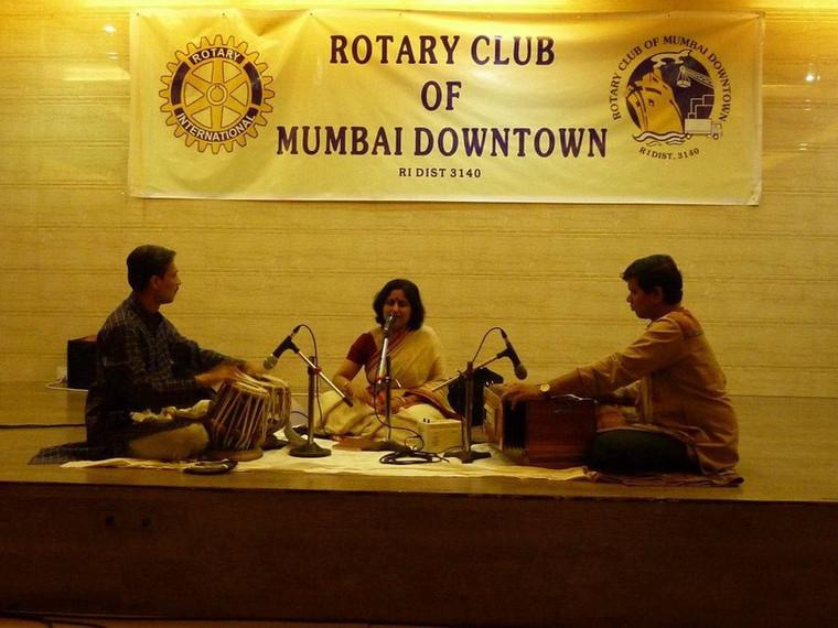 Rotary Club concert, Mumbai