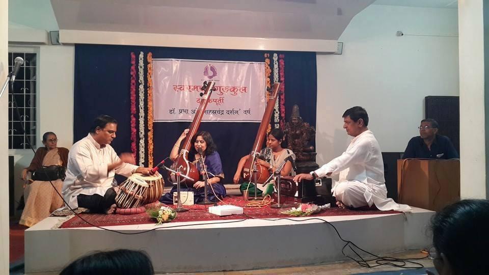 Concert at Swarmayee Gurukul