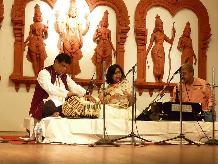 Concert at Balaji Temple, Guahati, Assam.