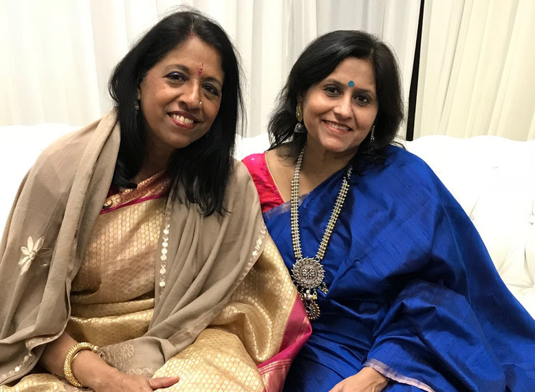 With Kavita Subramanium.