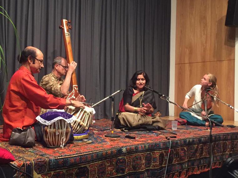 Concert at Rietberg Musium at Switzerland