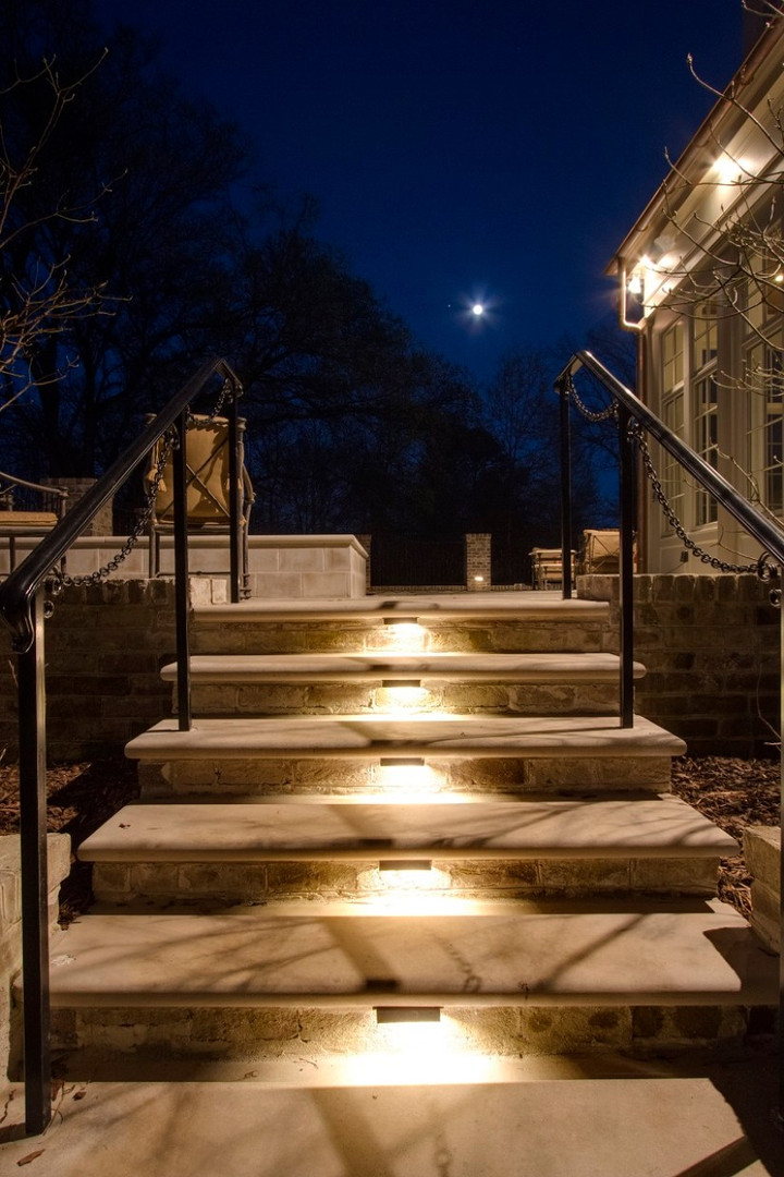 Louisville KY step and patio lighting.jp