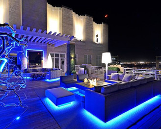 led strip application private house