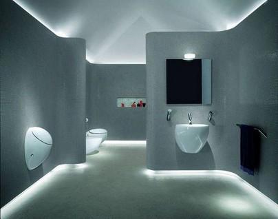 led strip application-bathroom