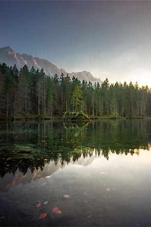 Lago paisagem Alemanha