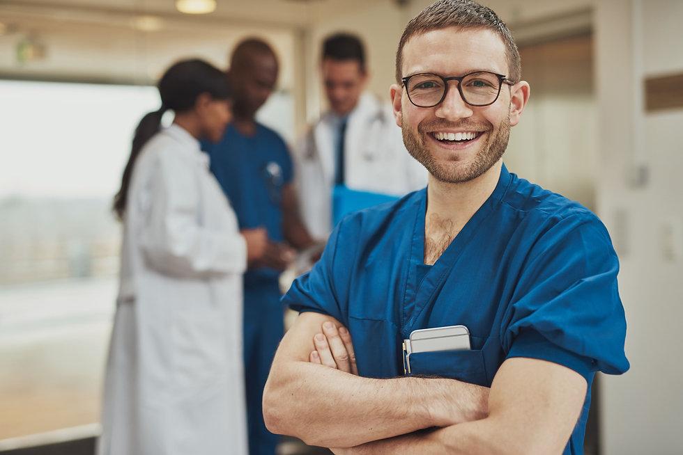 Enfermeiro a Sorrir, Emprego na Alemanha