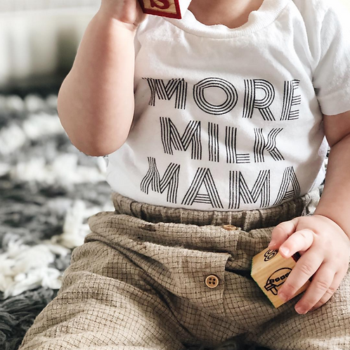 'More Milk Mama' Infant T-Shirt