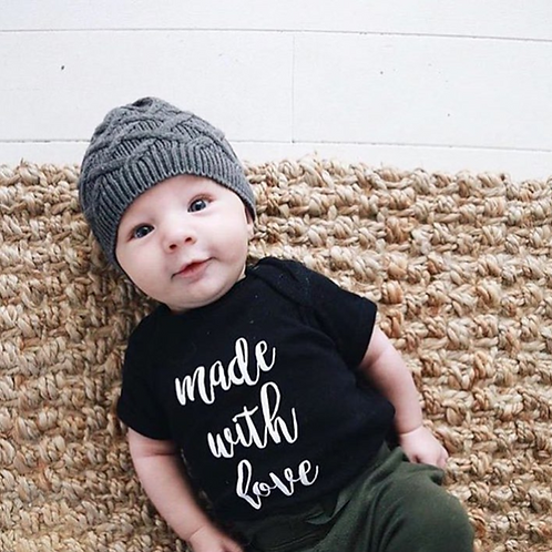 'Made With Love' Infant Bodysuit