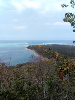 Kite Lagoon Le Morne - top view