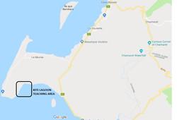 Kite lagoon le morne - Teaching map