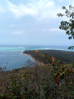 Kite Lagoon Le Morne - top view 2