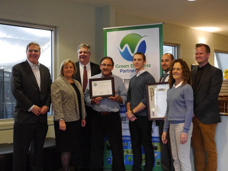 Yonkers Tennis First Yonkers Business to be Green Business Partner Certified!