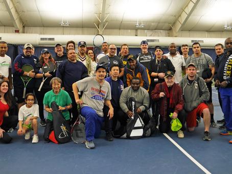 1st Tennis Serving Vets held at Yonkers Tennis!