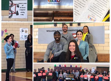 William Boyce Thompson School receives Wellness Champions award from New York State
