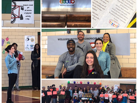 William Boyce Thompson School receives Wellness Champions award from New York State