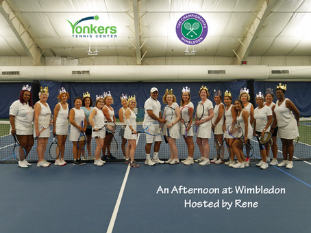 An Afternoon at Wimbledon Hosted by Rene