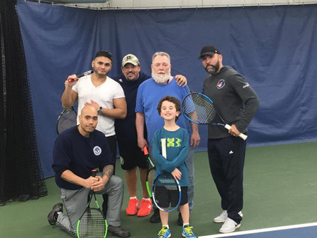 YTC hosts 2nd Tennis Serving Vets Event!