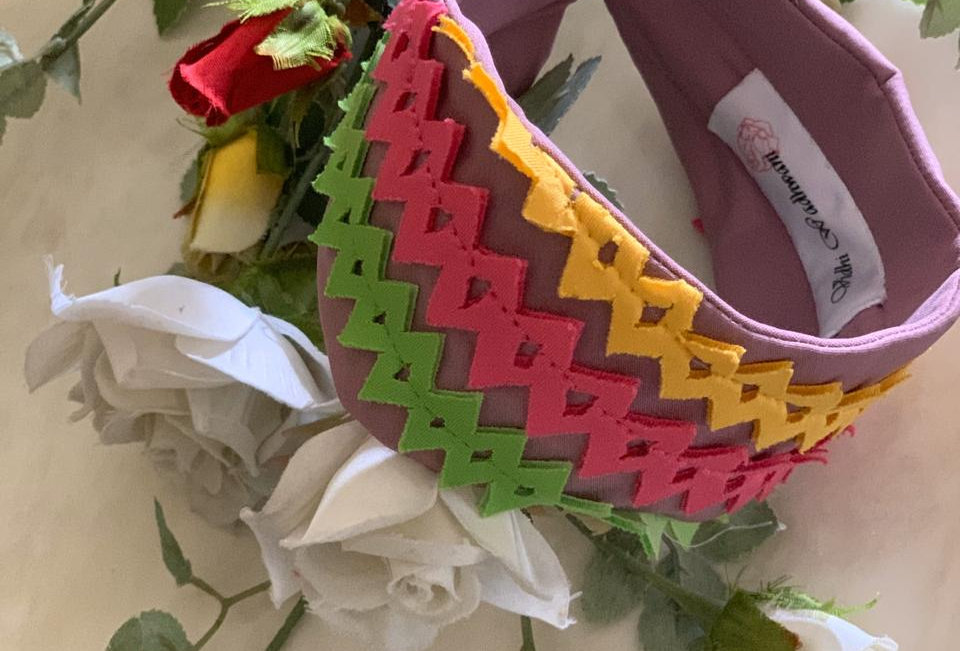 Multicolour Handcrafted Head Band