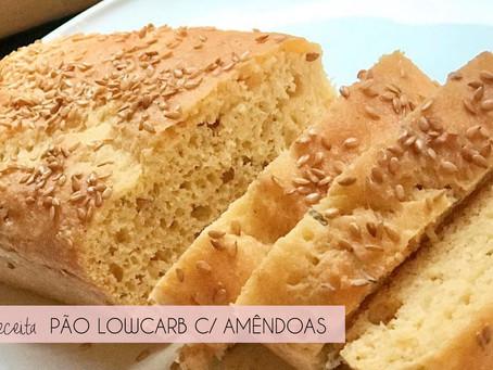 Pão low carb nutritivo, leve e muito macio!