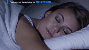 Conheça os benefícios da melatonina