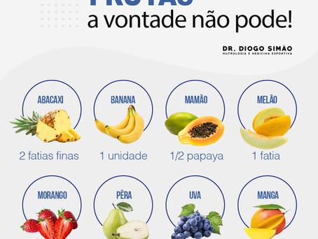 Frutas a vontade não pode!