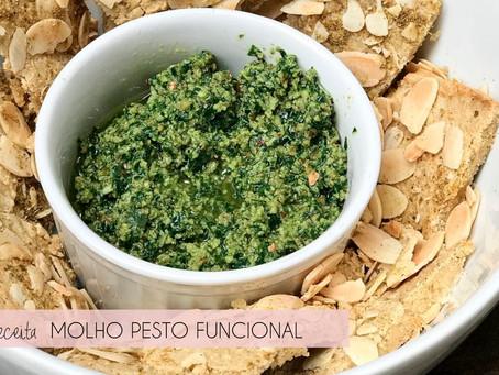 Receita: pesto funcional de kale e matchá