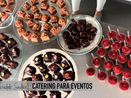 Novidade saudável: catering funcional para eventos Fran Tonello