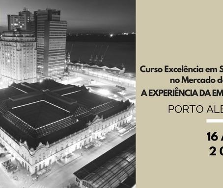 Agenda: Curso de Excelência em Serviço no Mercado de Luxo em Porto Alegre
