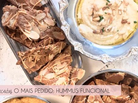 Hummus: um dos mais pedidos do Personal Chef