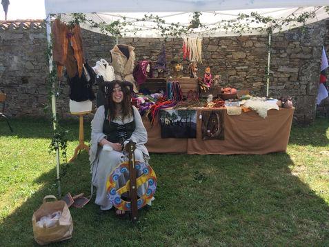 L'arche en laine de Marie : feutrière - Le cor de Lunaria 2018
