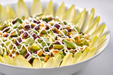 Avocado endive salad