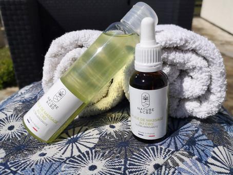 Nouveau massage avec un nouveau produit !