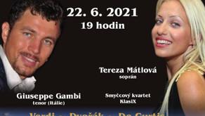 LETNÍ KONCERT V BAROKNÍ VRTBOVSKÉ ZAHRADĚ 22. 6. 2021!